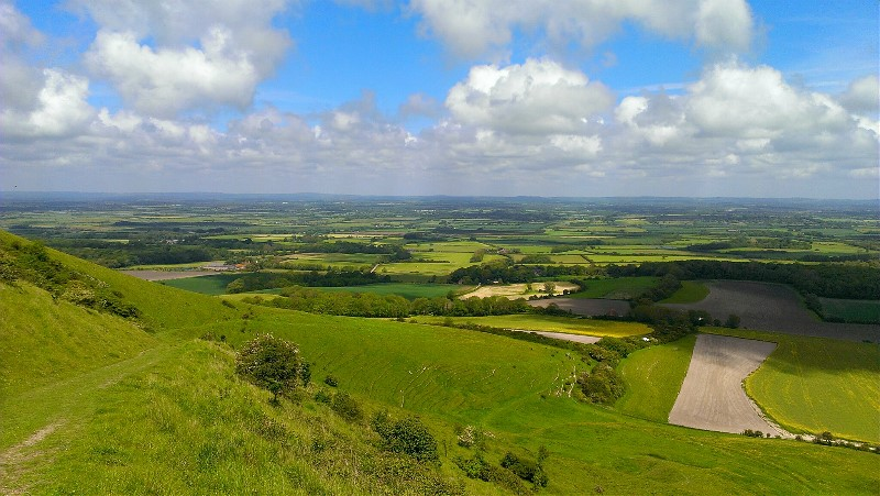 South Downs Tours - View from Bo Peep Hill